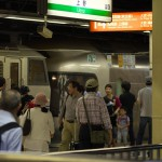 【Tokyo Train Story】上野駅での賑わい(寝台特急カシオペア)