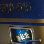 【Tokyo Train Story】EF510のライトに映り込む「北斗星」