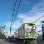 【Tokyo Train Story】台風一過の青空(都電荒川線)
