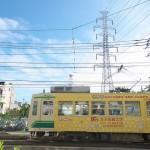 【Tokyo Train Story】青空と雲と鉄塔と(都電荒川線)