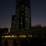 【Tokyo Train Story】汐留駅付近の近未来的風景(ゆりかもめ)
