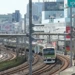 【Tokyo Train Story】S字カーブを曲がる山手線