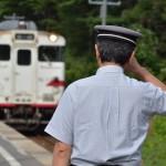 津軽線の車内から北海道新幹線の2016年3月の開業へ向けての工事を眺める 『夏の終わりの青森・岩手・宮城の東北3県を巡る旅』 その35