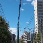 【Tokyo Train Story】青い空、白い雲(都電荒川線)