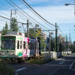 【Tokyo Train Story】台風一過の東京スカイツリー(都電荒川線)