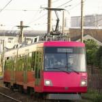 【Tokyo Train Story】窓ガラスの映り込み(東急世田谷線)