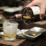 浅草橋の玉椿でニッカのウイスキーを飲みながら美味しい料理やお蕎麦に舌鼓を打つ