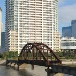 東京都港湾局専用線の廃線跡に残る春海橋を撮影する 『佃・月島・築地 #AMNフォトウォーク 』 その7