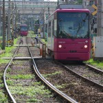 【Tokyo Train Story】こっちに来るピンクの都電、あっちに行くピンクの都電