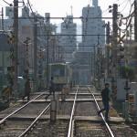 【Tokyo Train Story】踏切が連続する光景(都電荒川線)