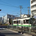 【Tokyo Train Story】熊野前電停付近の青空(都電荒川線)