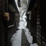 旧中仙道の奈良井宿の雪景色 『冬の長野 アルクマ詣での旅』 その12