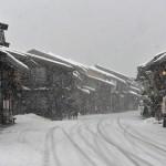 雪が降りしきる奈良井宿の冬を撮影してみた 『冬の長野 アルクマ詣での旅』 その14