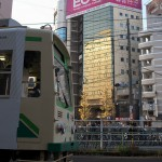 【Tokyo Train Story】ビルの中のビル(都電荒川線)