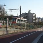 【Tokyo Train Story】雑司が谷付近の広々とした風景(都電荒川線)
