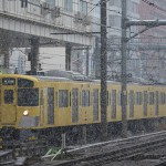 【Tokyo Train Story】雪の日の西武新宿線