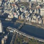 【Tokyo Train Story】東京スカイツリーから東武スカイツリーラインの列車を見下ろす