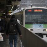 【Tokyo Train Story】雪の日の山手線