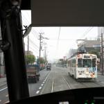 熊本市電のCOCOROの車内から上熊本駅前から健軍町までの車窓風景を撮影してみた! 『くまもと鉄分補給日記の旅』 その35 #鉄道くまもと