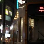 【Tokyo Train Story】夜の都電荒川線を彩る光