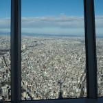 東京スカイツリーから見る荒川区、台東区、墨田区、豊島区などの下町風景 『東京スカイツリー訪問記』 その2