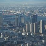 東京スカイツリーから東京を見下ろしてみると、東京は水に囲まれた街ということがよくわかる 『東京スカイツリー訪問記』 その3(最終回)