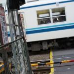 【Tokyo Train Story】亀戸水神駅の構内踏切(東武亀戸線)