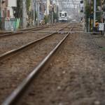 【Tokyo Train Story】走り去る電車(東武亀戸線)
