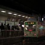 【Tokyo Train Story】夜の大塚駅前電停(都電荒川線)
