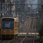 【Tokyo Train Story】壁(都電荒川線)