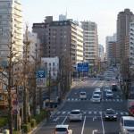 【Tokyo Train Story】歩道橋の上から(都電荒川線)