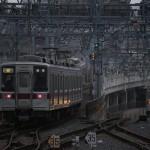 【Tokyo Train Story】曳舟駅のホームにて(東武スカイツリーライン)