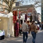 ヴィースバーデンの中心街で開催されていたイースター・マーケットの屋台をひやかしながら歩いてみる 『ドイツ路地裏散歩の旅』 その15 #ANAxトラベラーズ