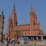 ヴィースバーデンの中央にそびえ立つマルクト教会(Marktkirche)を見学してみた 『ドイツ路地裏散歩の旅』 その17 #ANAxトラベラーズ