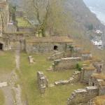200年以上前に廃墟となったライン川沿いにあるラインフェルス城を見学してみる  『ドイツ路地裏散歩の旅』 その41 #ANAxトラベラーズ