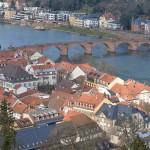 ハイデルベルク城からもう一度ハイデルベルクの町並みを眺めて美しい景色とお別れをする  『ドイツ路地裏散歩の旅』 その33 #ANAxトラベラーズ