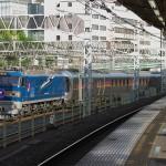 【Tokyo Train Story】鶯谷駅のホームで寝台特急カシオペアを撮る