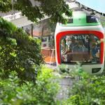 【Tokyo Train Story】緑の中を突き進む(上野動物園モノレール)