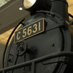 【Tokyo Train Story】丸で構成された蒸気機関車