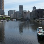 【Tokyo Train Story】運河がある景色(東京モノレール)