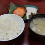 大沢館のシンプルで味わい深い夕食を写真付きで紹介『新潟県の大沢山温泉大沢舘へののんびり旅』 その9