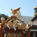 原宿駅前でお神輿を撮影することからフォトウォークがスタート 『原宿・青山フォトウォーク』 その1