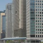 【Tokyo Train Story】高層ビル街のゆりかもめ