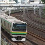 【Tokyo Train Story】鶯谷のカーブ(東北本線)
