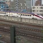 【Tokyo Train Story】諏方神社から眺める東北新幹線