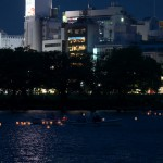 不忍池で開催された灯籠流しを撮影してみた 池を漂う幻想的な灯籠をご覧ください