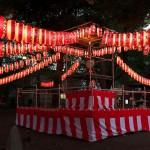 平成27年(2015年)の雑司ヶ谷鬼子母神の盆踊り 雰囲気抜群の屋台と提灯の灯りを撮影してみた(写真14枚)