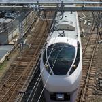 【Tokyo Train Story】両大師橋から特急列車を見下ろす(常磐線)