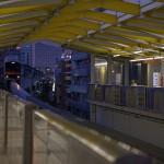 【Tokyo Train Story】夕暮れの街から(多摩モノレール)