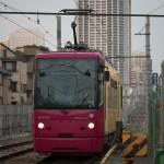 【Tokyo Train Story】坂道がある雑司が谷付近の風景(都電荒川線)